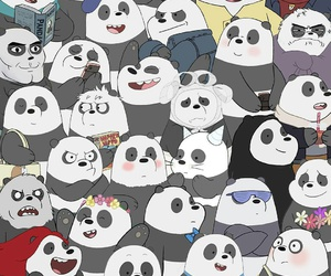 we bare bears, panda, and polar image