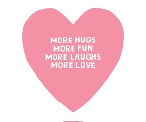 hugs, quote, and love image