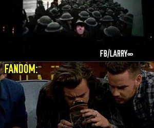 memes, harrystyles, and louistomlinson image