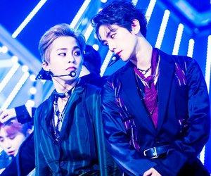 xiumin, exo, and baekhyun image