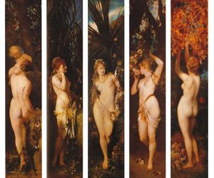 hans makart, art, and painting image