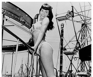 Bettie Page and Pin Up image