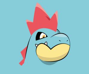 wallpaper, pokemon, and croconaw image