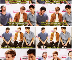 funny, teen wolf, and the maze runner image