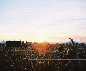 awesome, concert, and people image