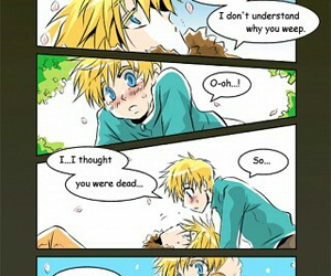 bunny, butters, and kenny mccormick image