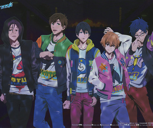 free!, rei, and anime image