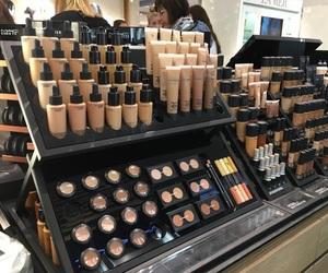 makeup, aesthetic, and mac image