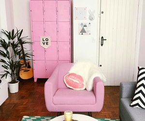 pink, decor, and decoration image