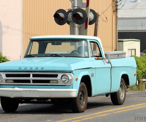 car, dodge, and pick up truck image