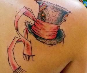 tattoo, art, and mad hatter image