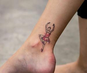 tattoo, ballet, and bailarina image