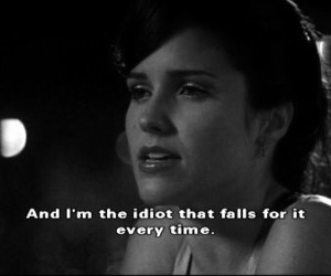 quotes, one tree hill, and idiot image