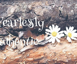 quotes, sayings, and wildflower image