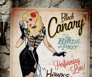 Black Canary, dc comics, and bombshell image