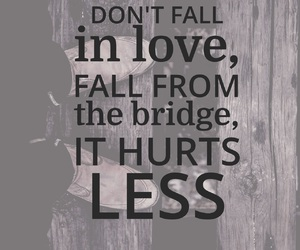 bridge, broken heart, and sad image