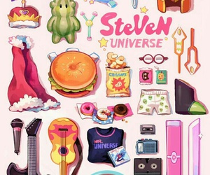 steven universe, garnet, and amethyst image