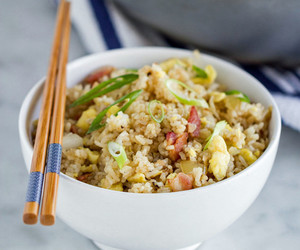 bacon, eggs, and fried rice image