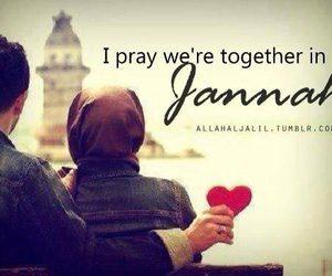 islam, muslim, and jannah image