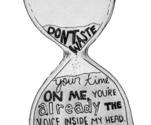 blink 182, i miss you, and time image