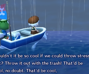 animal crossing, quote, and stress image