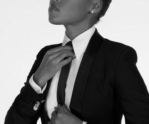tux, black and white, and melanin image