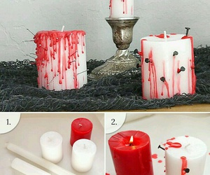 diy, Halloween, and candles image