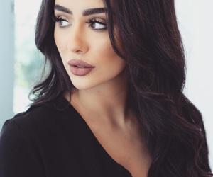 black, makeup, and eyes image