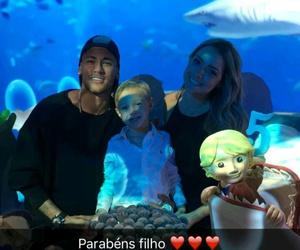 neymar, carolina dantas, and davi lucca image