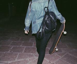 grunge, dark, and skate image