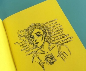 yellow, art, and the 1975 image