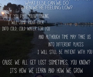 cold, justin, and Lyrics image