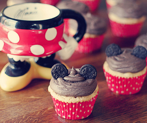 cupcake, disney, and oreo image