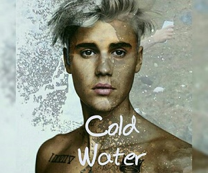 justinbieber, justin, and cold water image