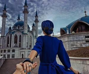 couple, travel, and followmeto image
