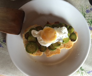 egg, tasty, and zucchini image