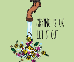 cry, quote, and motivation image