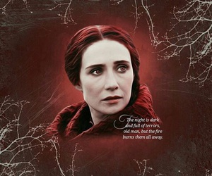 game of thrones and melisandre image