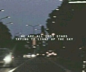 stars, quotes, and sky image