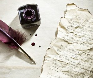 calligraphy, old time, and red ink image