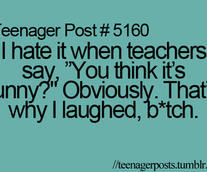 text, funny, and teenager post image