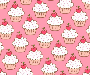 background, food, and pattern image
