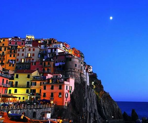 italy, summer, and nights image