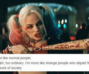 DC, harley quinn, and suicide squad image