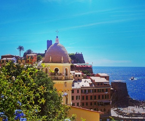 italy, summer, and cinqueterre image