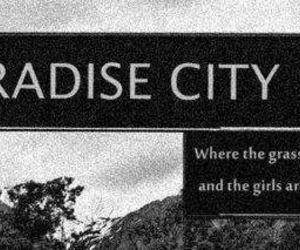 paradise city, Guns N Roses, and paradise image