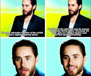 jared leto, suicide squad, and harley quinn image