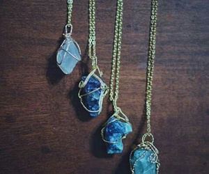 necklace, crystal, and photography image