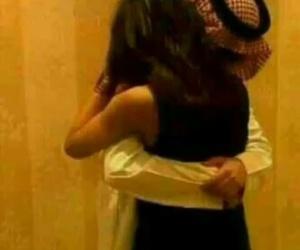 arab, couple, and girl image