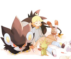 citron, pokemon, and chespin image